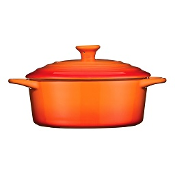 Prime Furnishing OvenLove Casserole Dish, 1.4 Ltr - Orange