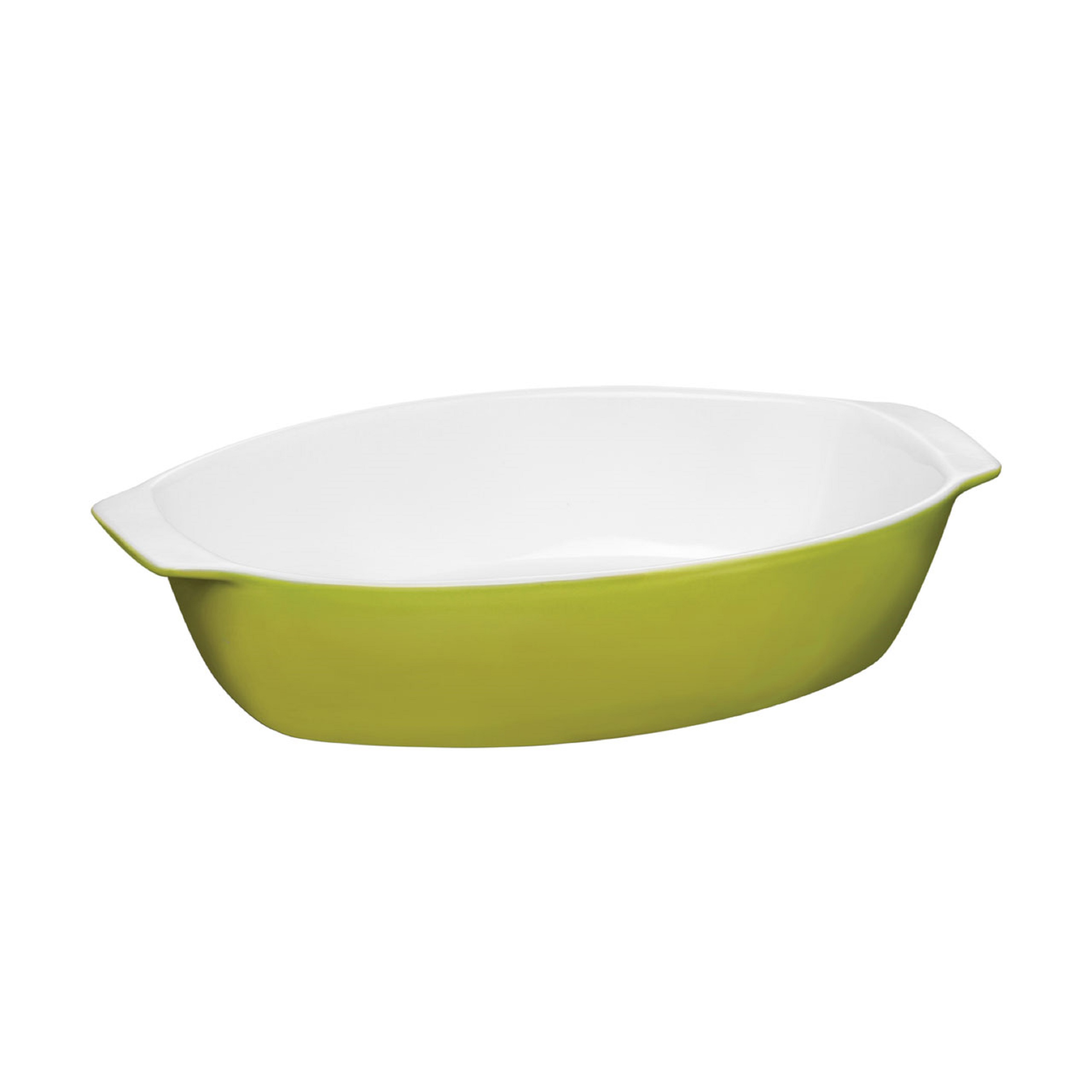 OvenLove Large Baking Dish Lime Green Stoneware