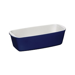 OvenLove Loaf Dish Blue Stoneware