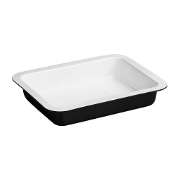 Prime Furnishing Ecocook Roasting Dish - Black/White