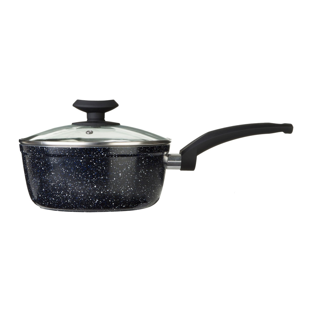 Stoneflam Saucepan Forged Aluminium Marble Coating Soft Touch