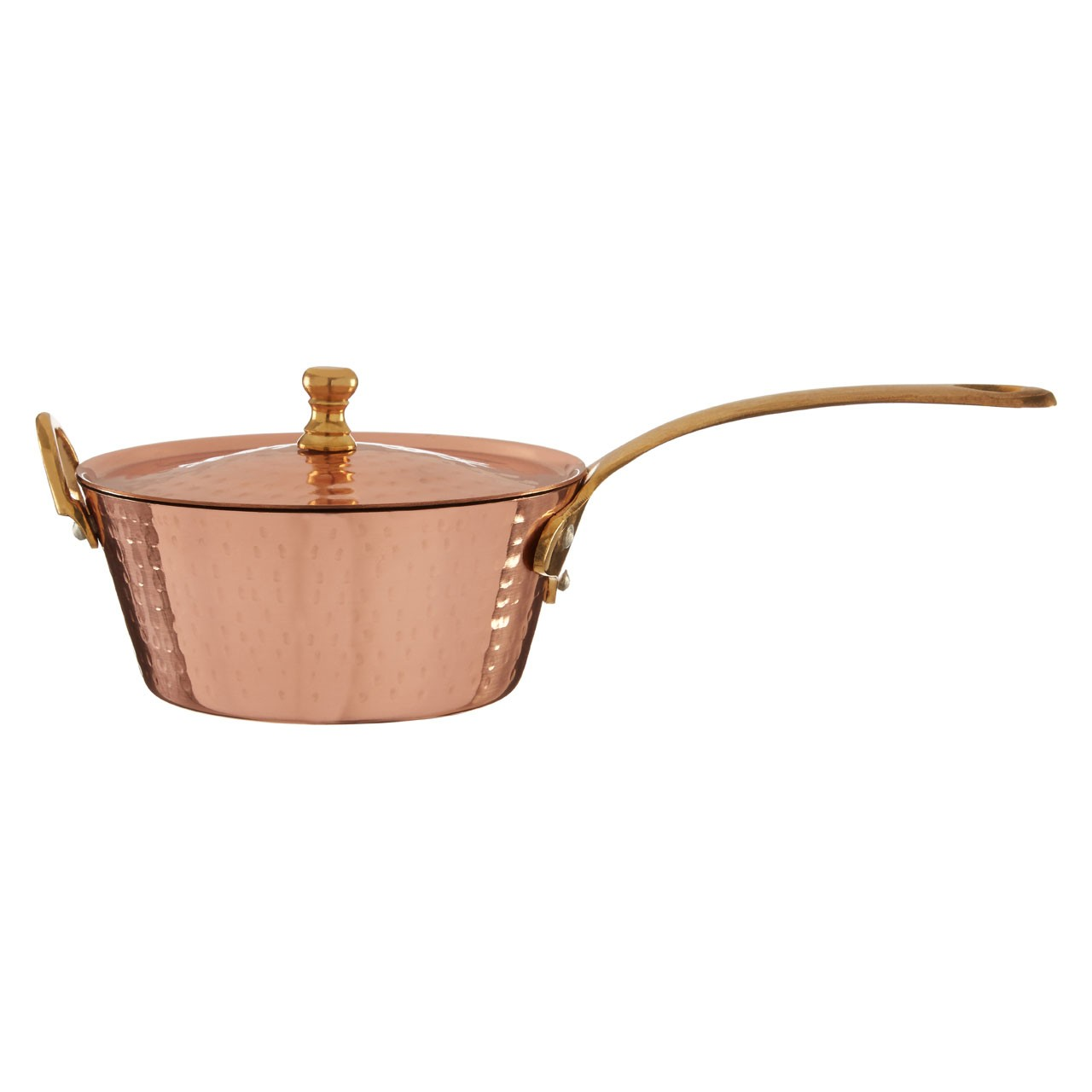 Cyprus Mini Saucepan Warm Metallic Accent
