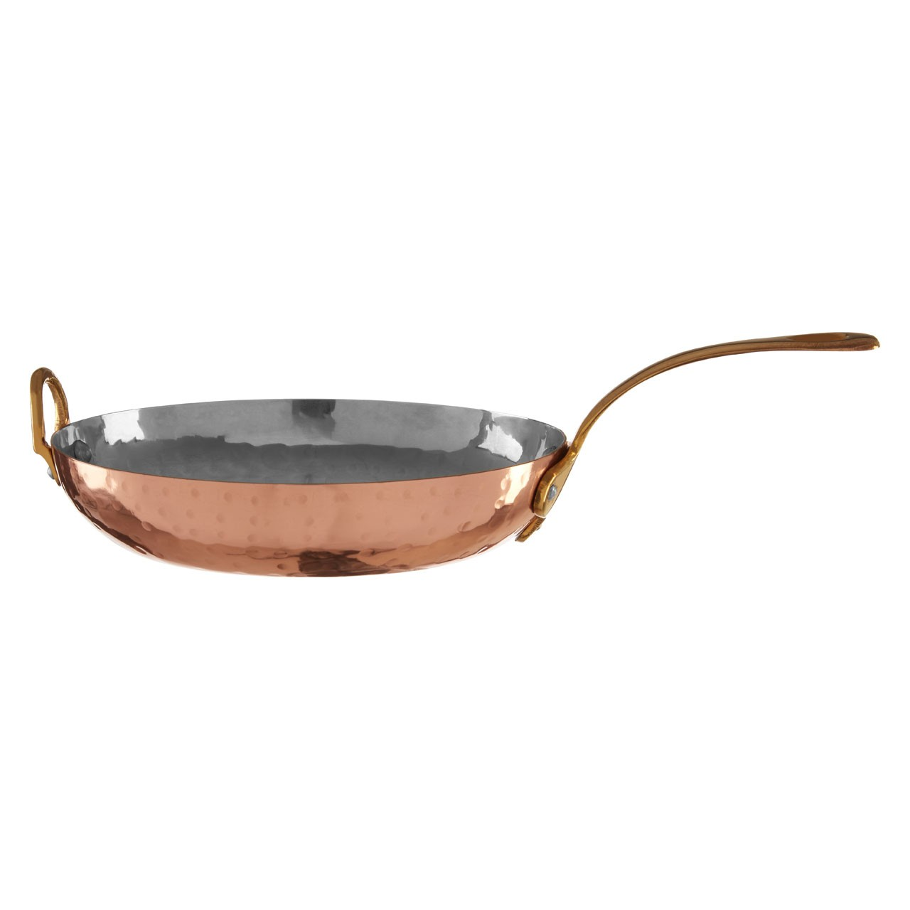 Cyprus Mini Frypan Hammered Effect Robust Stainless Steel