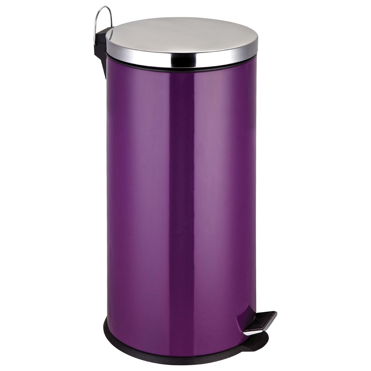 30 L Stainless Steel Pedal Bin, Purple
