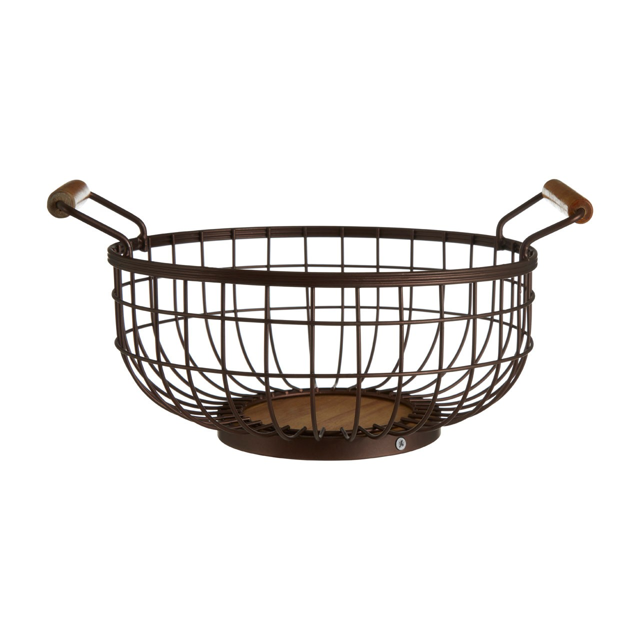 Vertex Bronze Powder Coated Fruit Basket