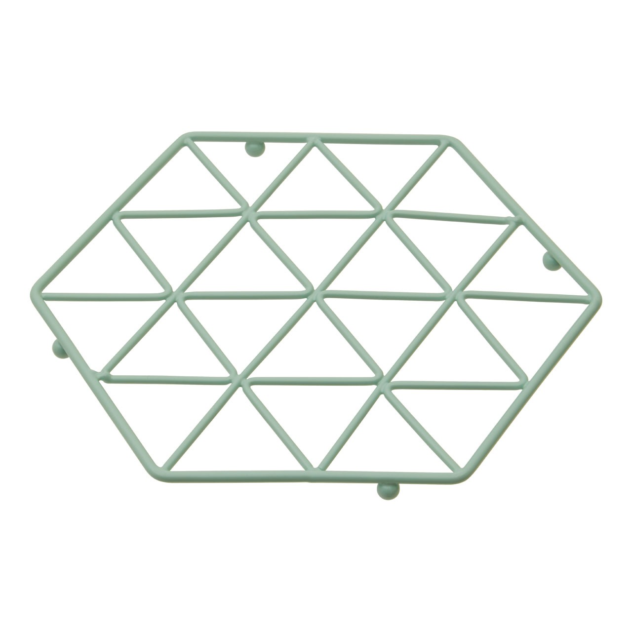 Vertex Green Finish Trivet