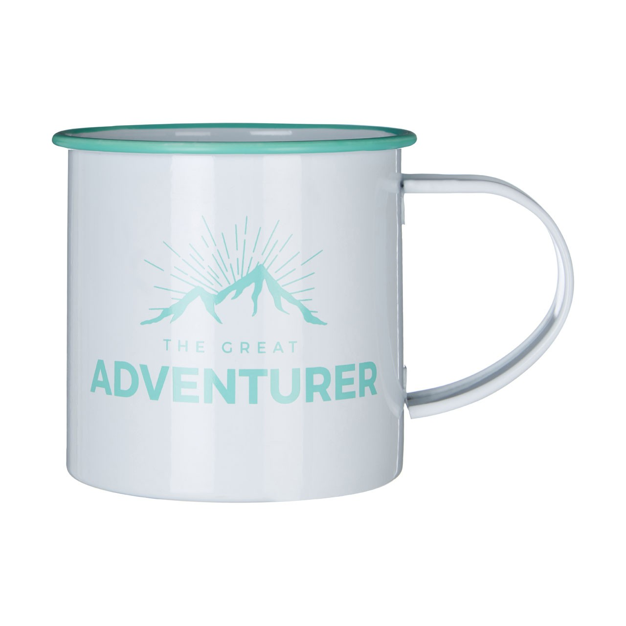 Prime Furnishing Galvanised Steel Adventurer Mugs - Set Of 6