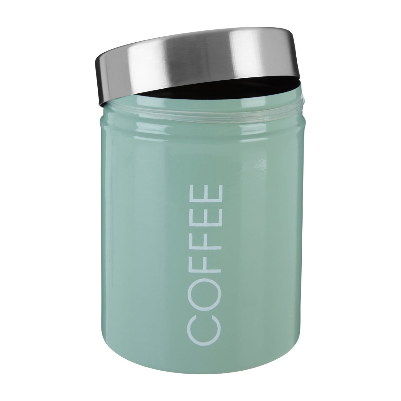 Liberty Coffee Canister/Steel Lid
