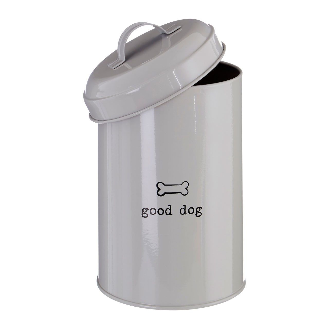 "Adore Pets ""Good Dog"" Food Storage Canister, Natural"