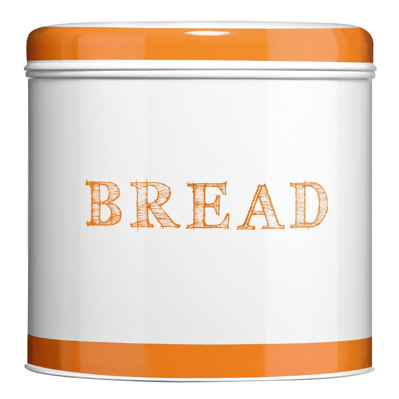 Band Bread Bin - Orange