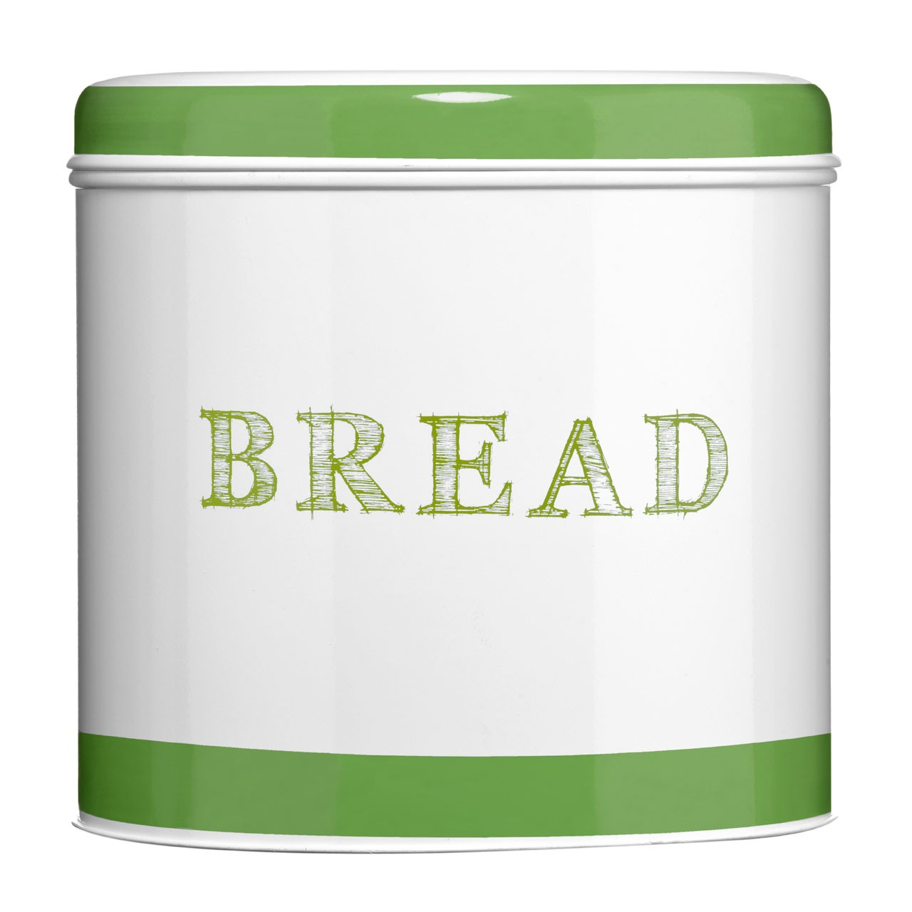 Band Bread Bin - Green