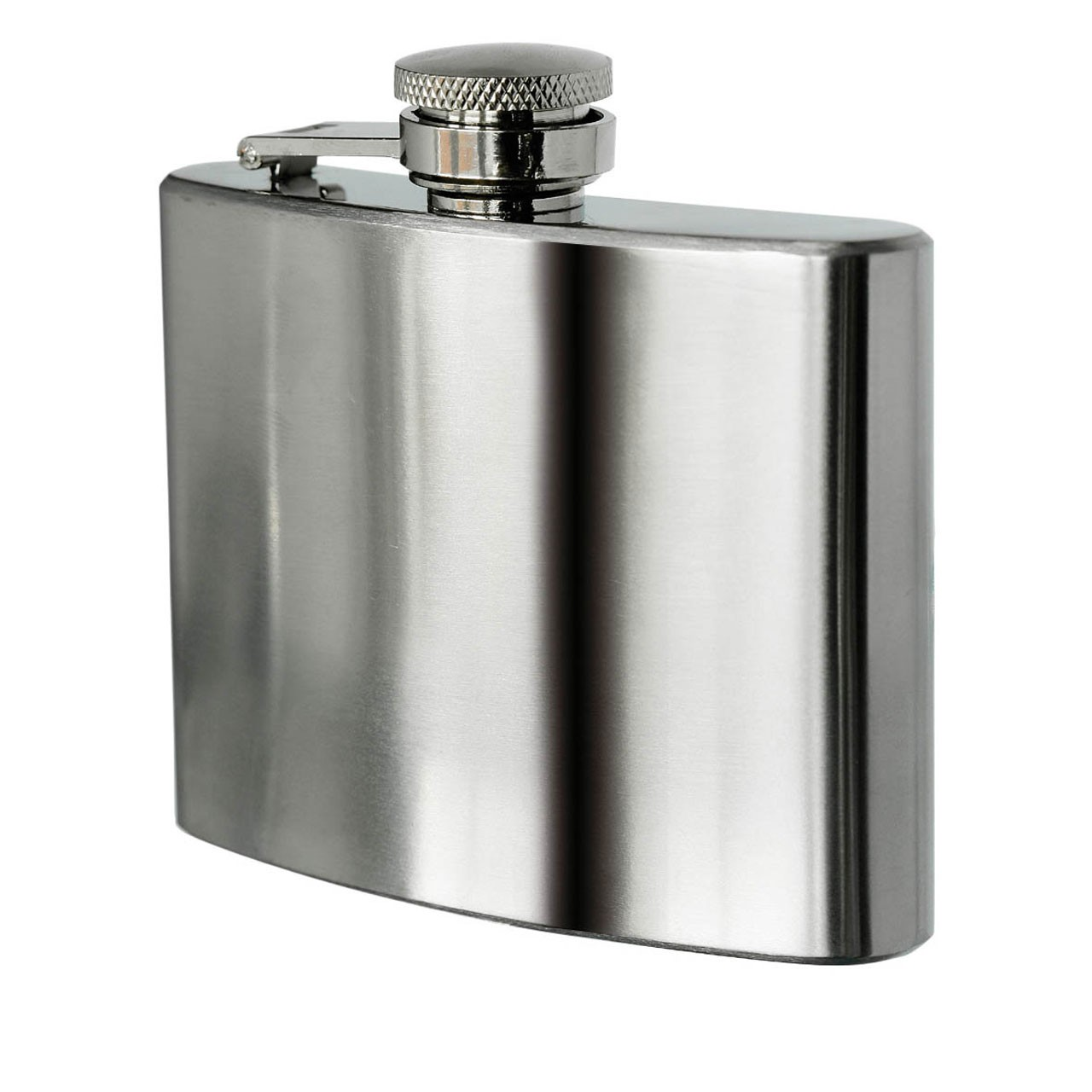 Prime Furnishing Hip Flask, 5 oz, Stainless Steel
