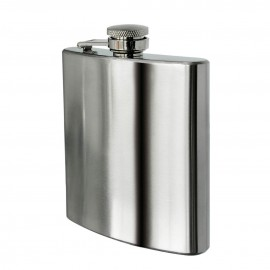 Prime Furnishing Hip Flask, 8oz, Stainless Steel
