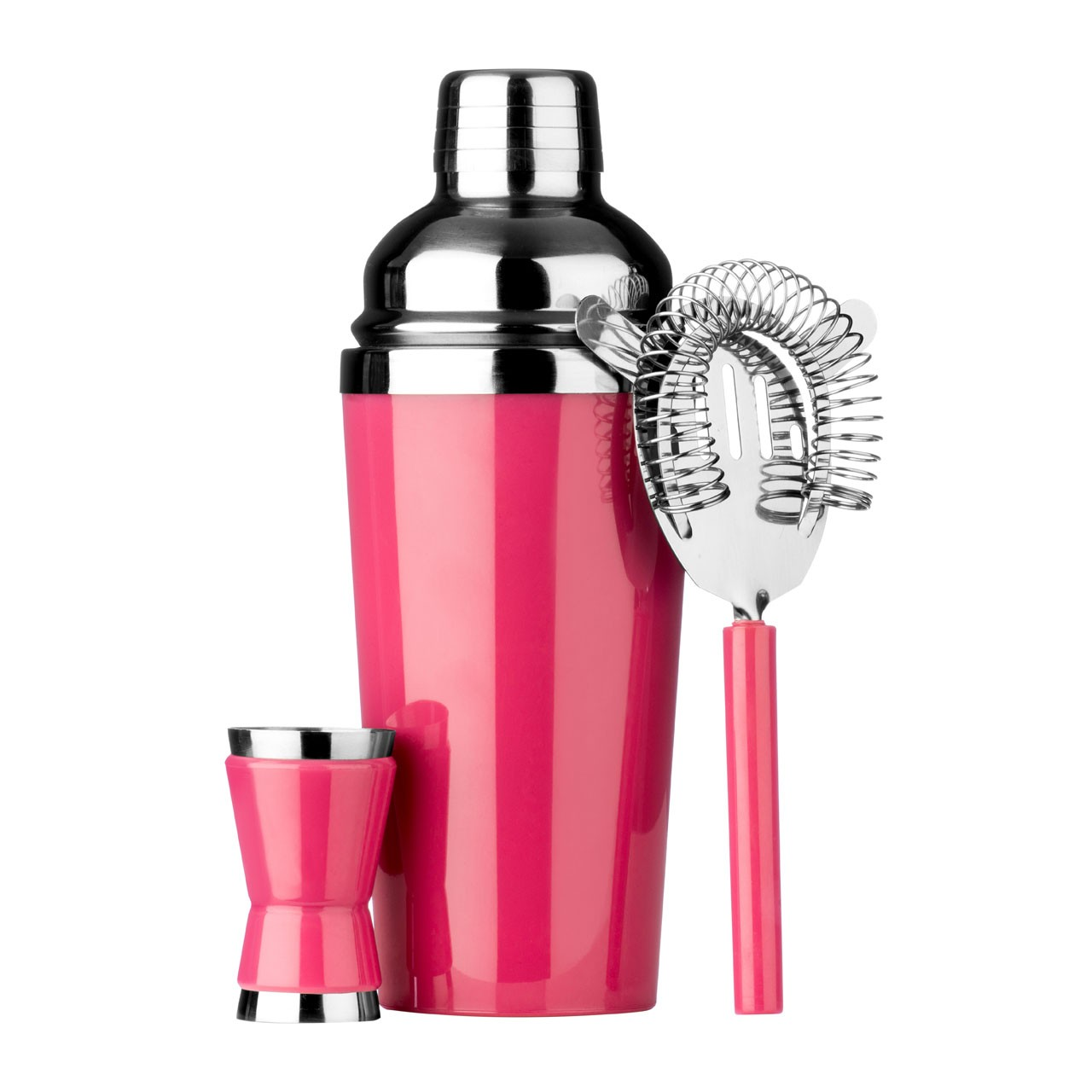 Cocktail Set, Hot Pink