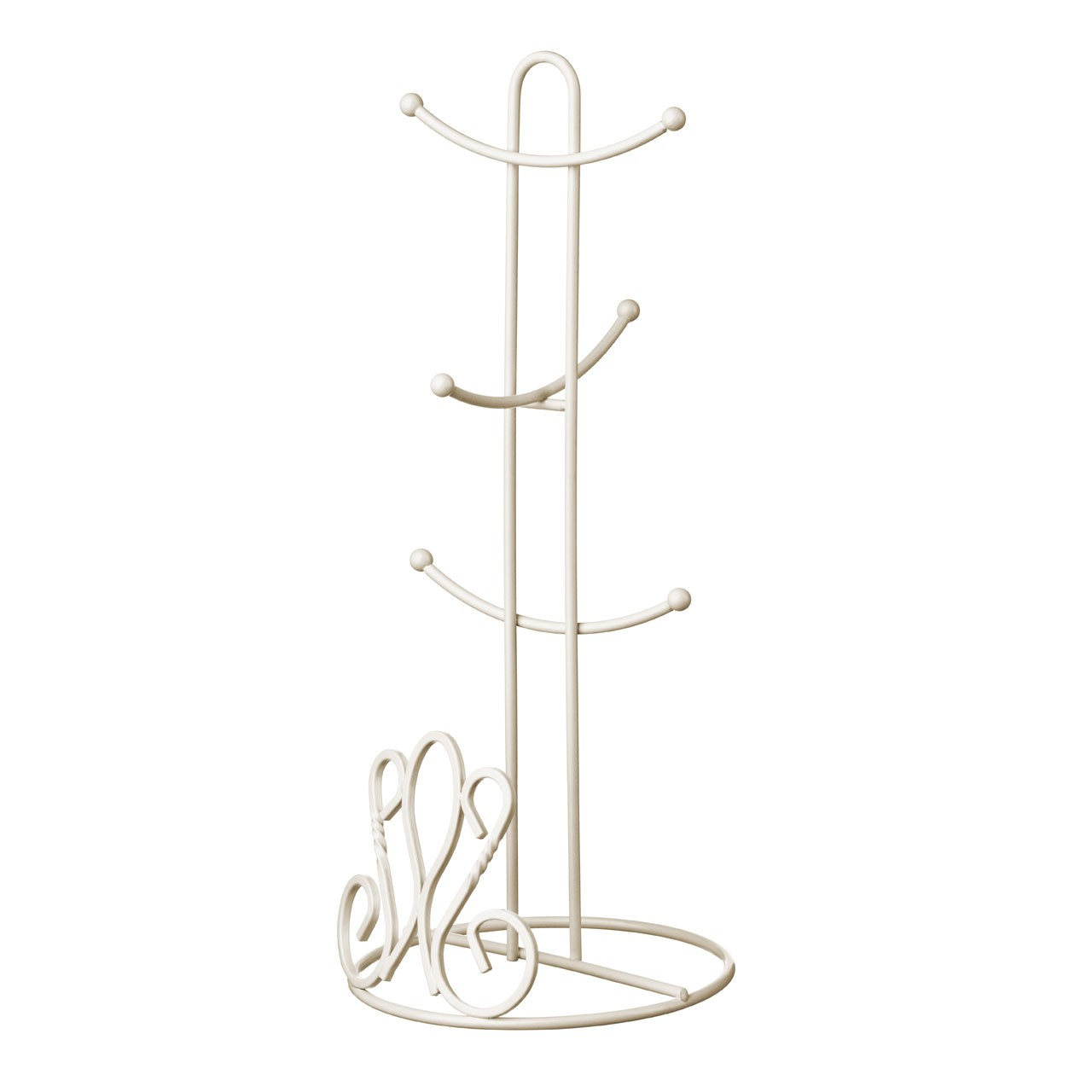 De Lis Mug Tree - Cream