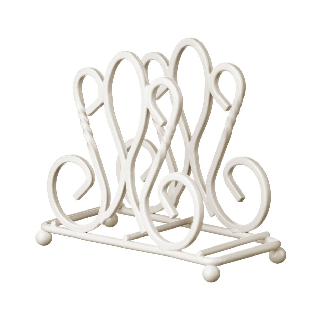 De Lis Napkin Holder - Cream