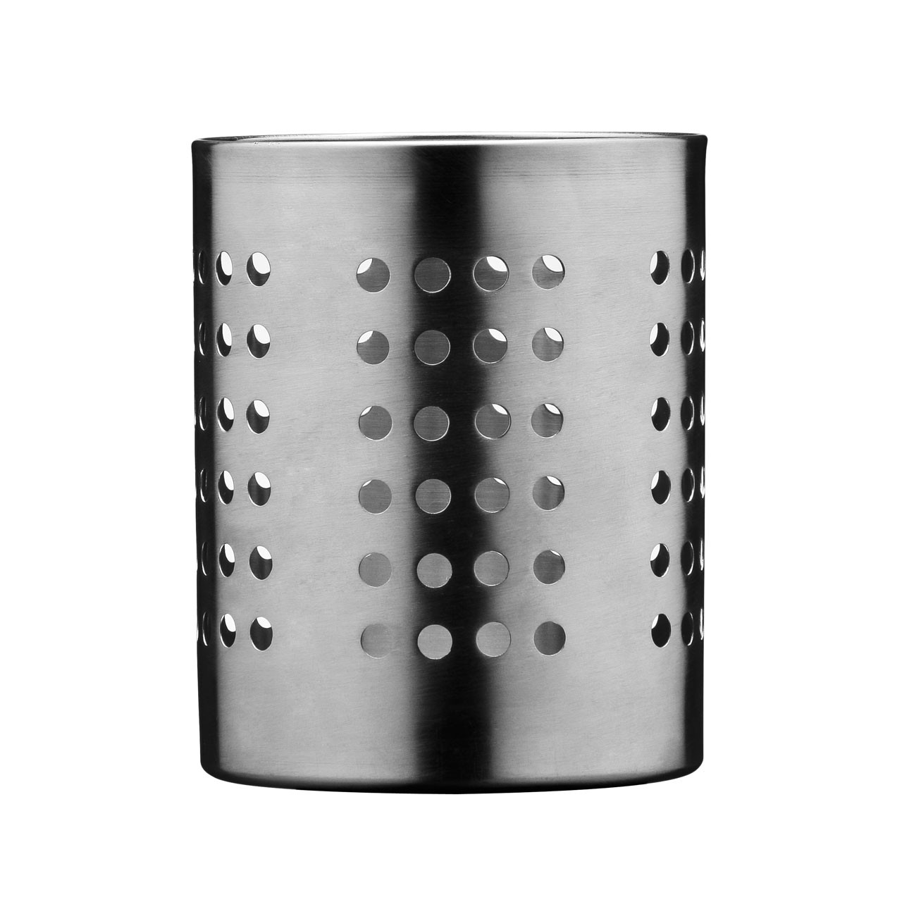 Prime Furnishing Cutlery Caddy, Brushed Stainless Steel