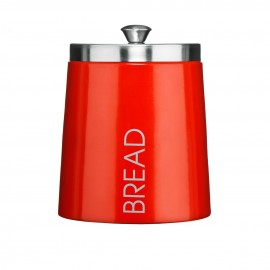 Conical Bread Bin - Red