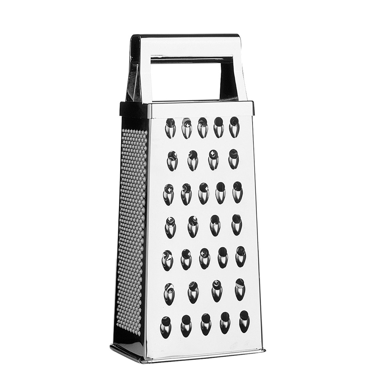 Premier Housewares 4 Sided Grater - 22 cm - Stainless Steel
