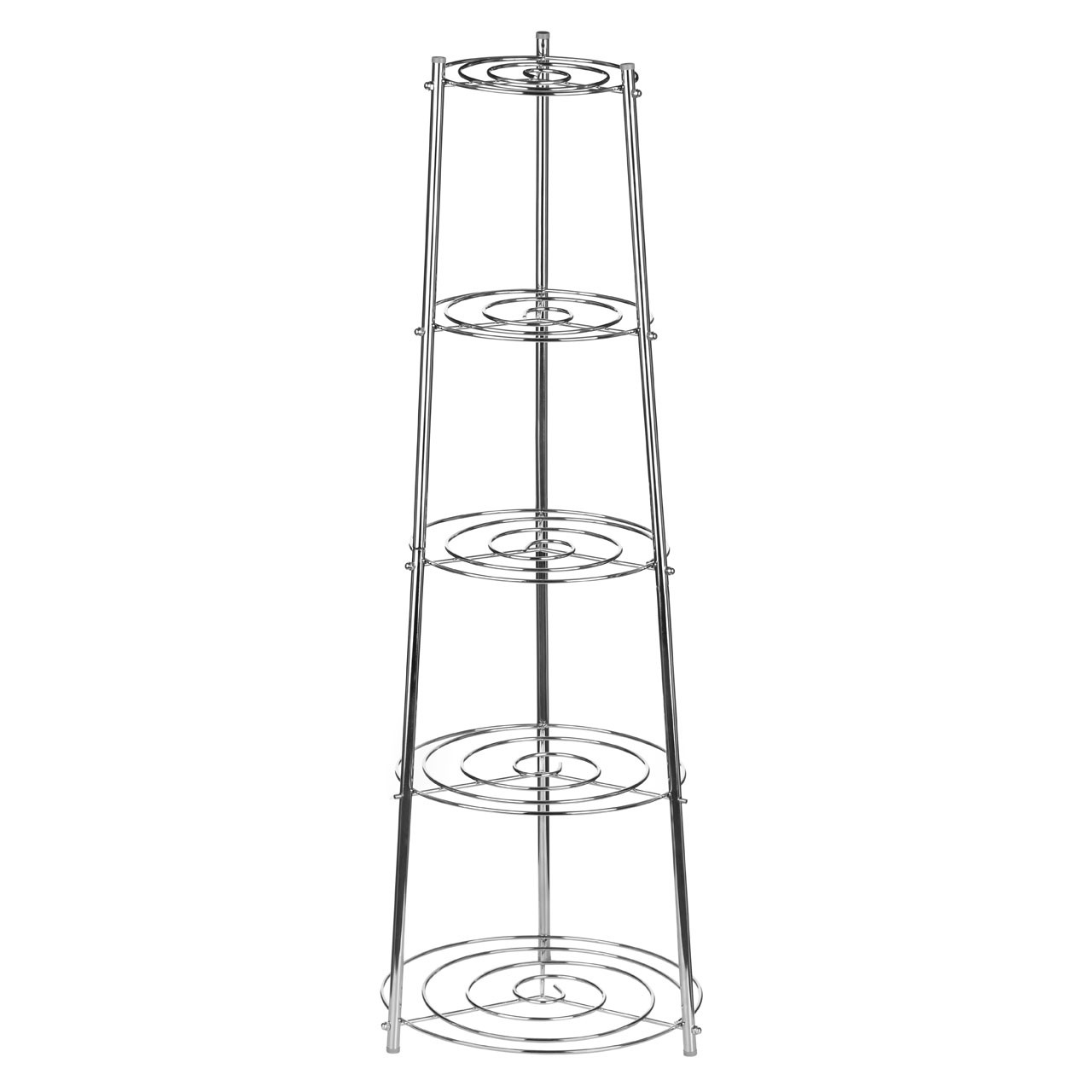 5-Tier Pan Stand - Chrome