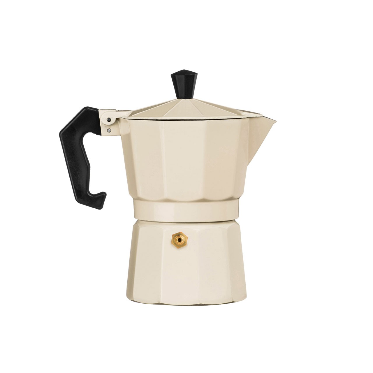 3-Cup Espresso Maker, Cream