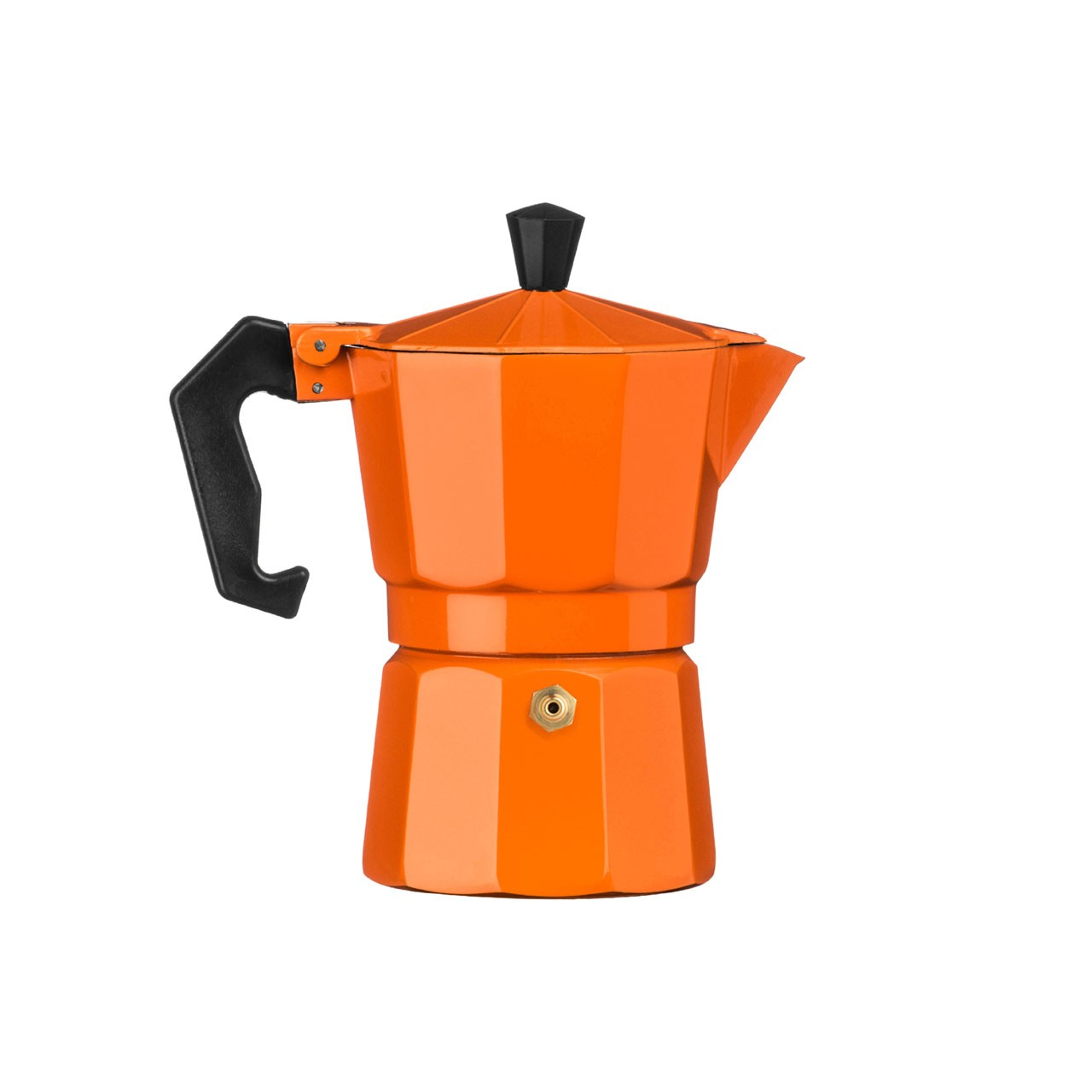 3-Cup Espresso Maker, Orange