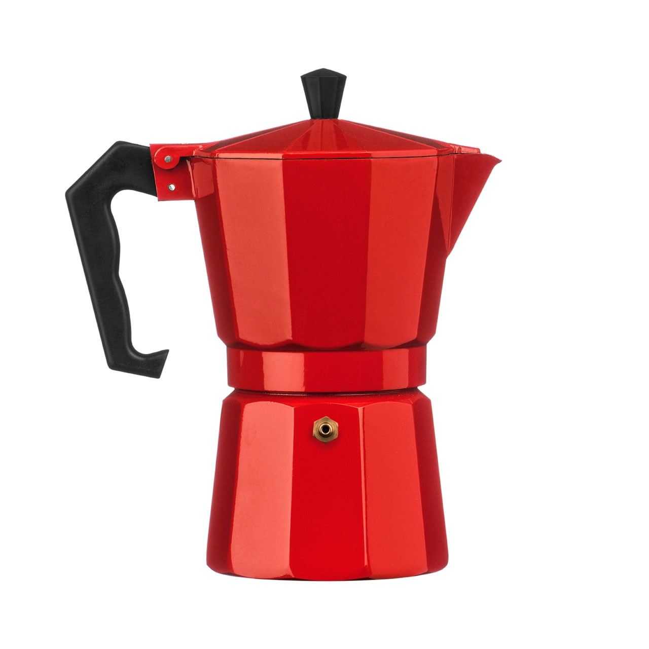 6-Cup Espresso Maker, Red