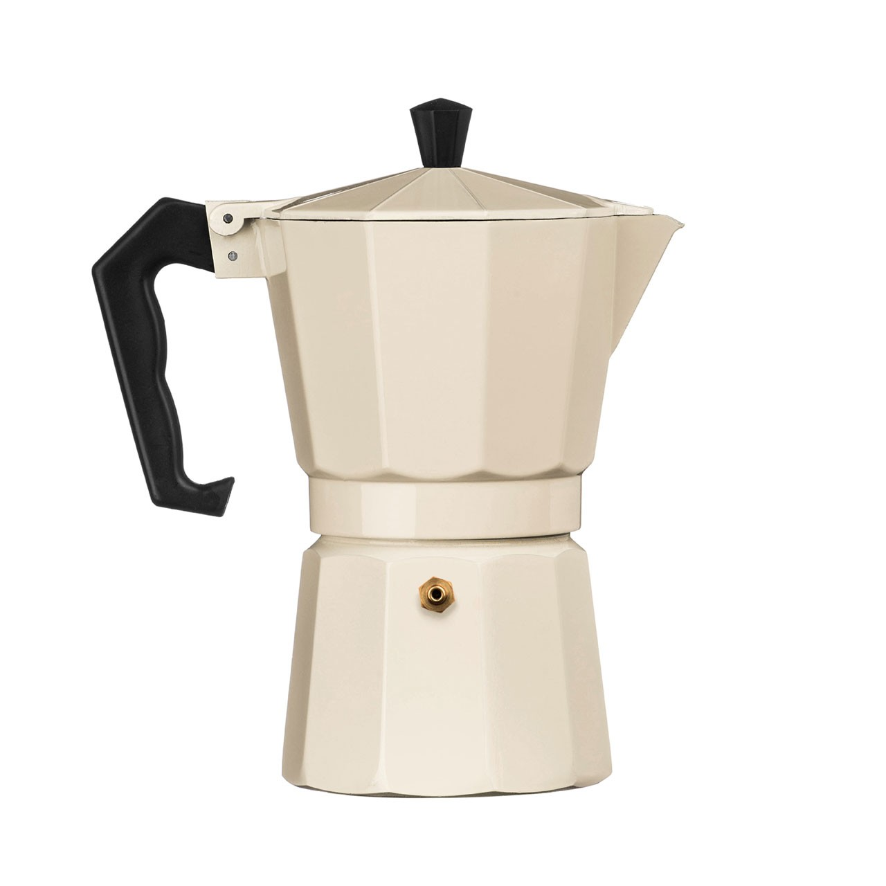 6-Cup Espresso Maker, Cream