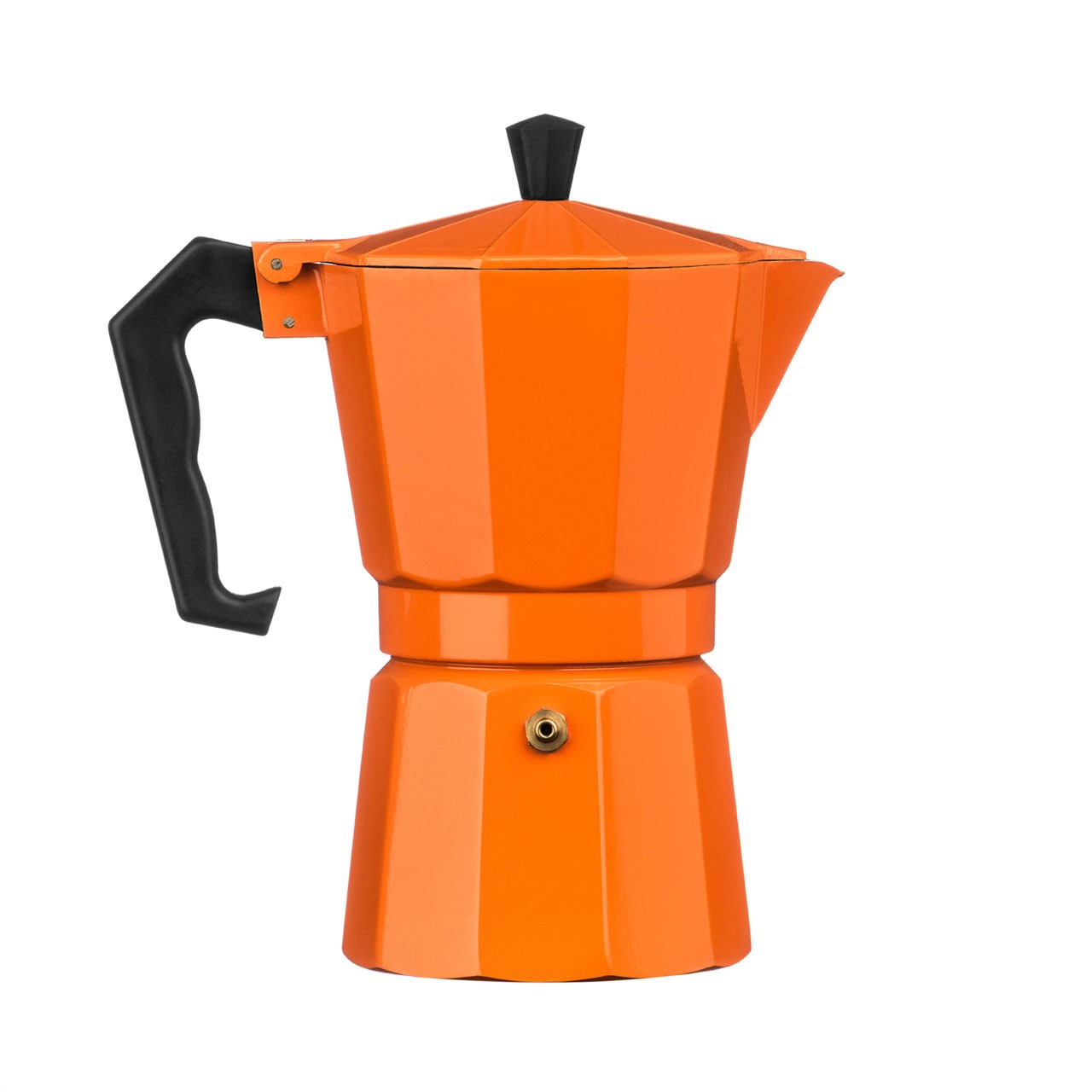 6-Cup Espresso Maker, Orange