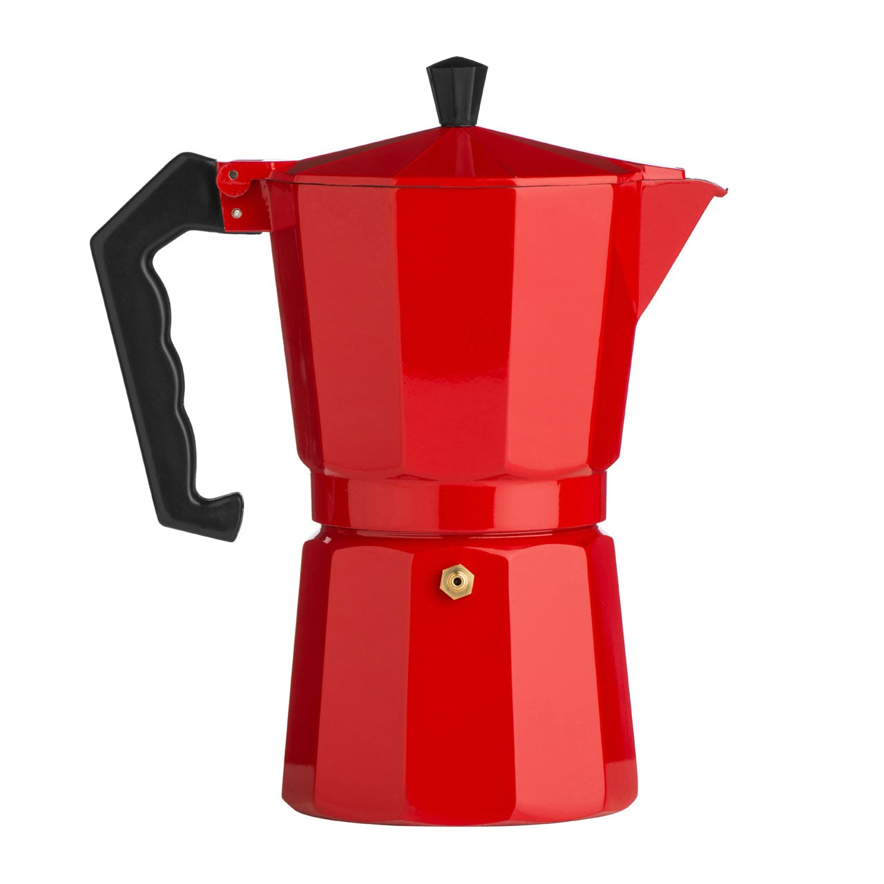 9-Cup Espresso Maker, Red