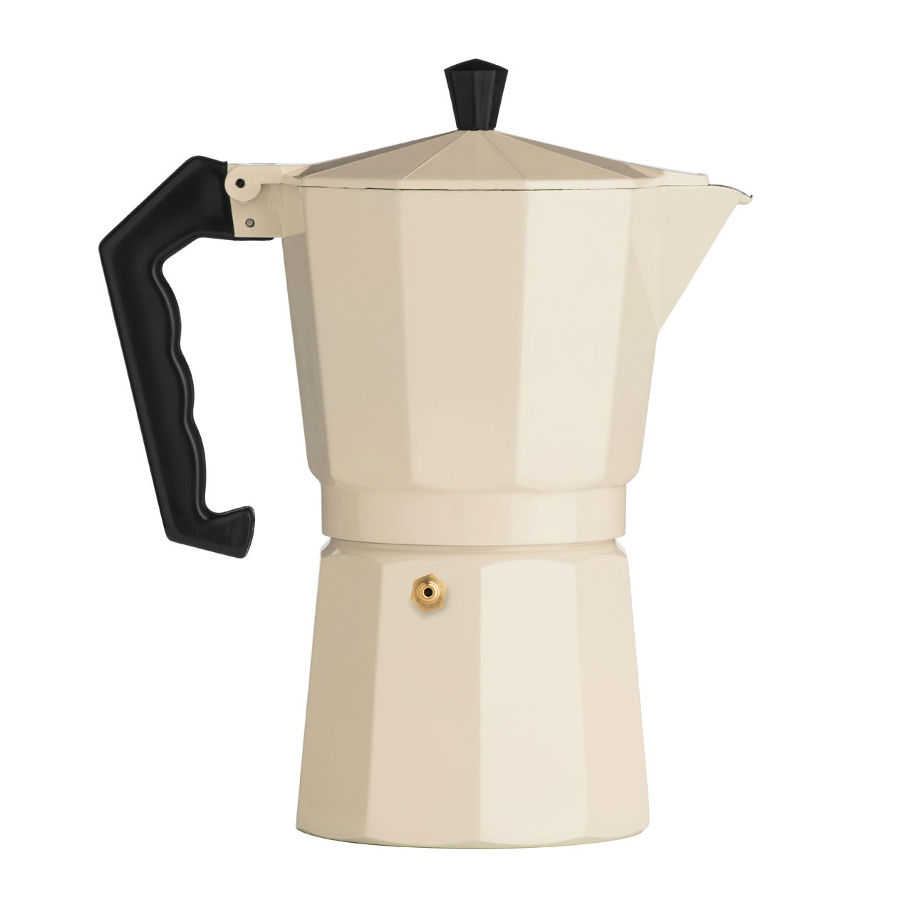 9-Cup Espresso Maker, Cream