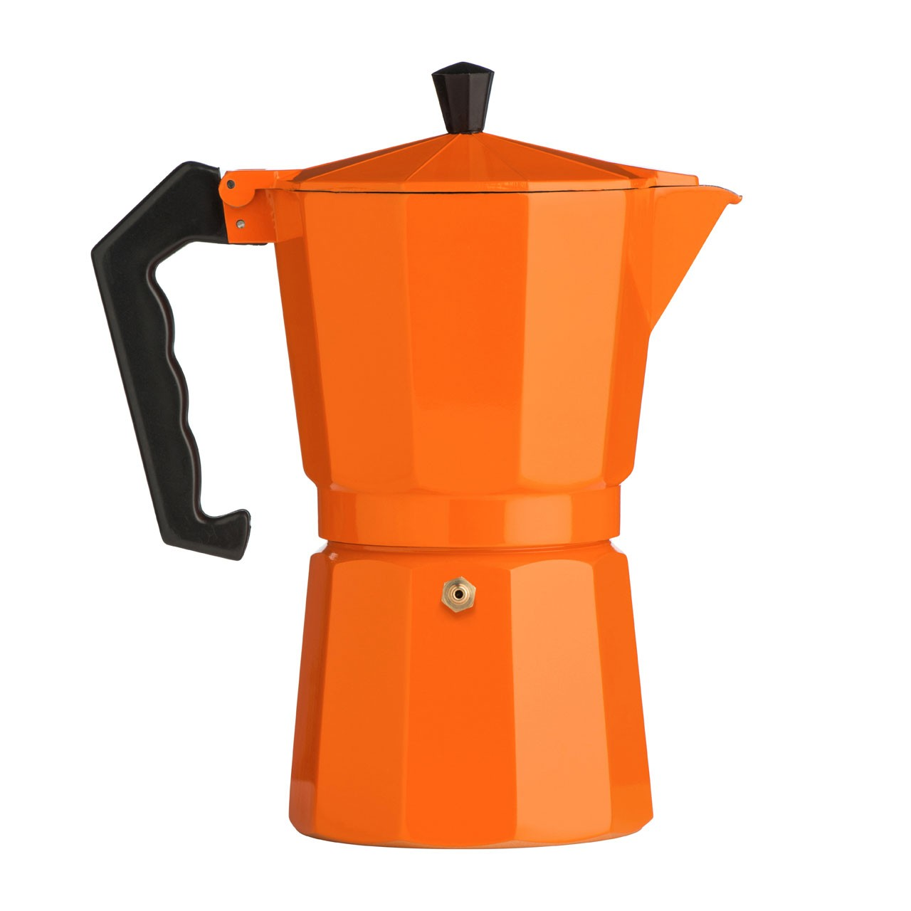 9-Cup Espresso Maker, Orange