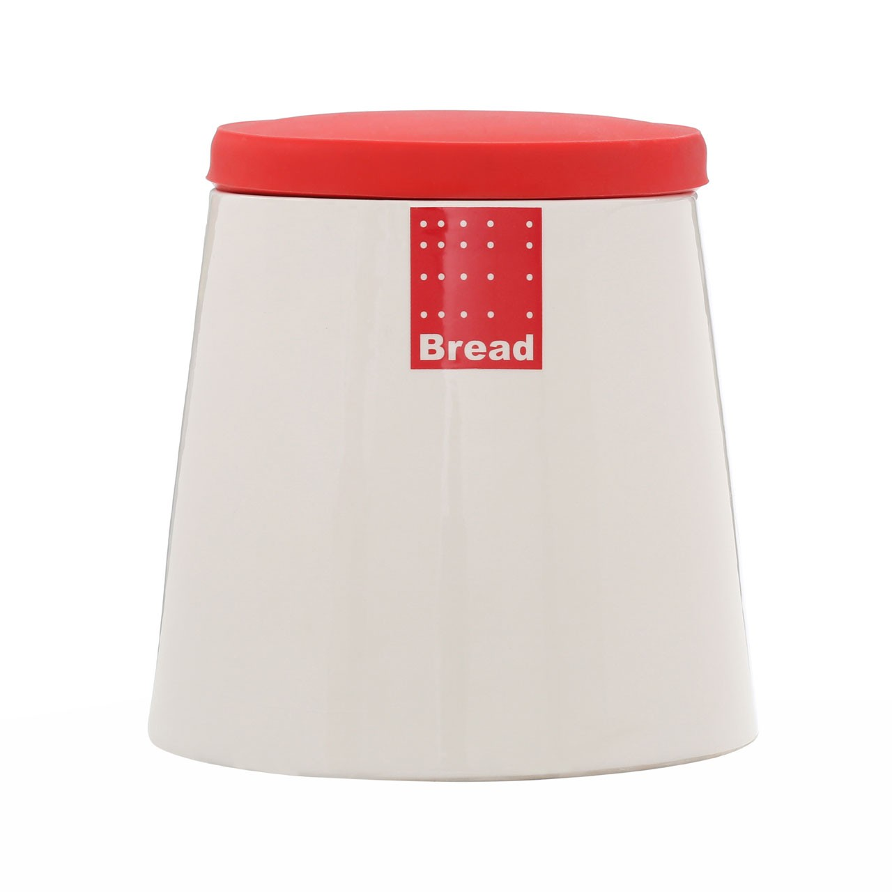 Red Tag Bread Bin Silicone Lid