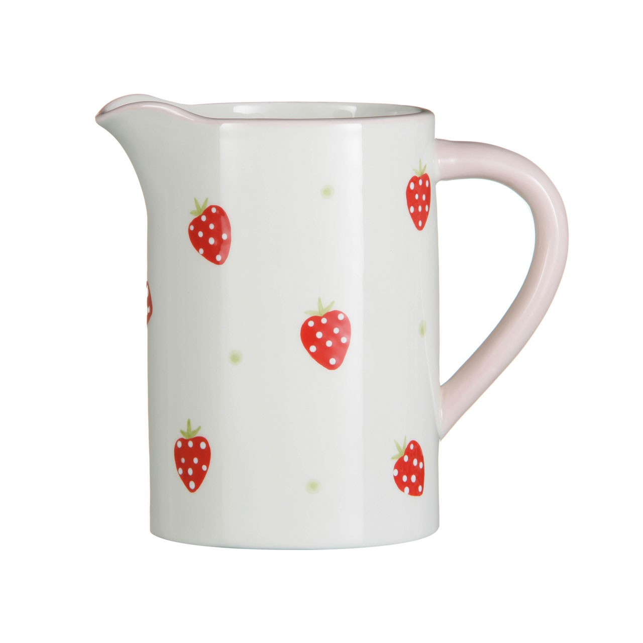 Strawberry Fields Water Jug 1000ml Ceramic