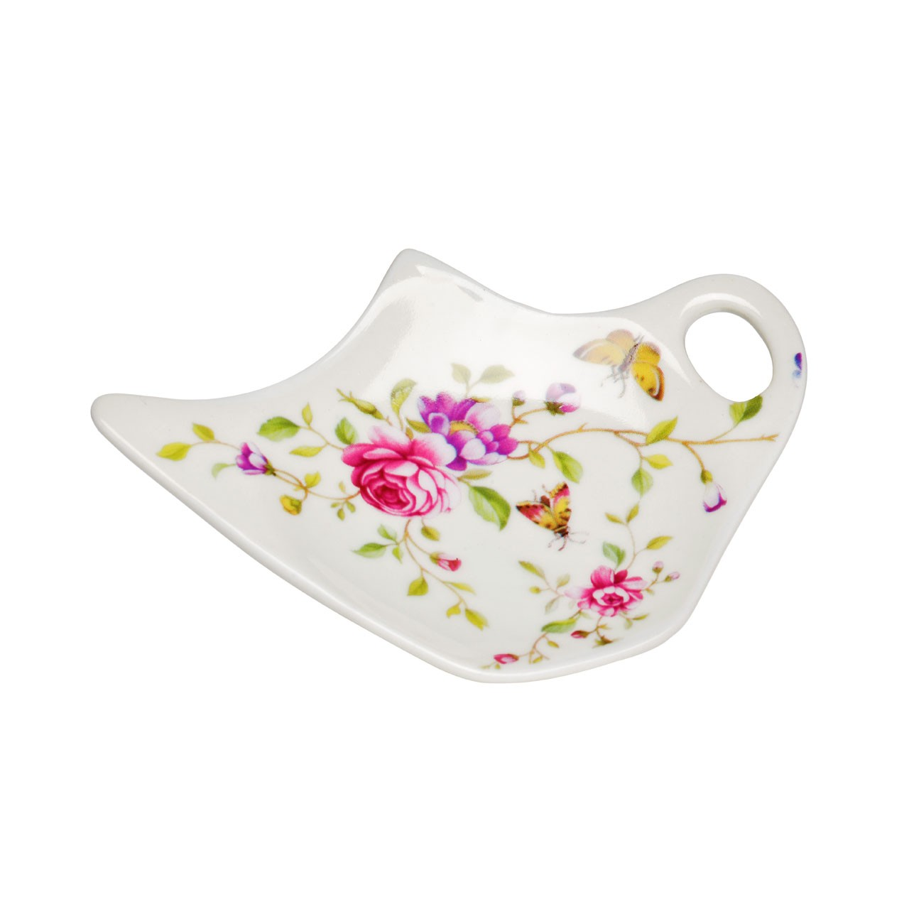 Teabag Tidy Gentle Rose (porcelain)