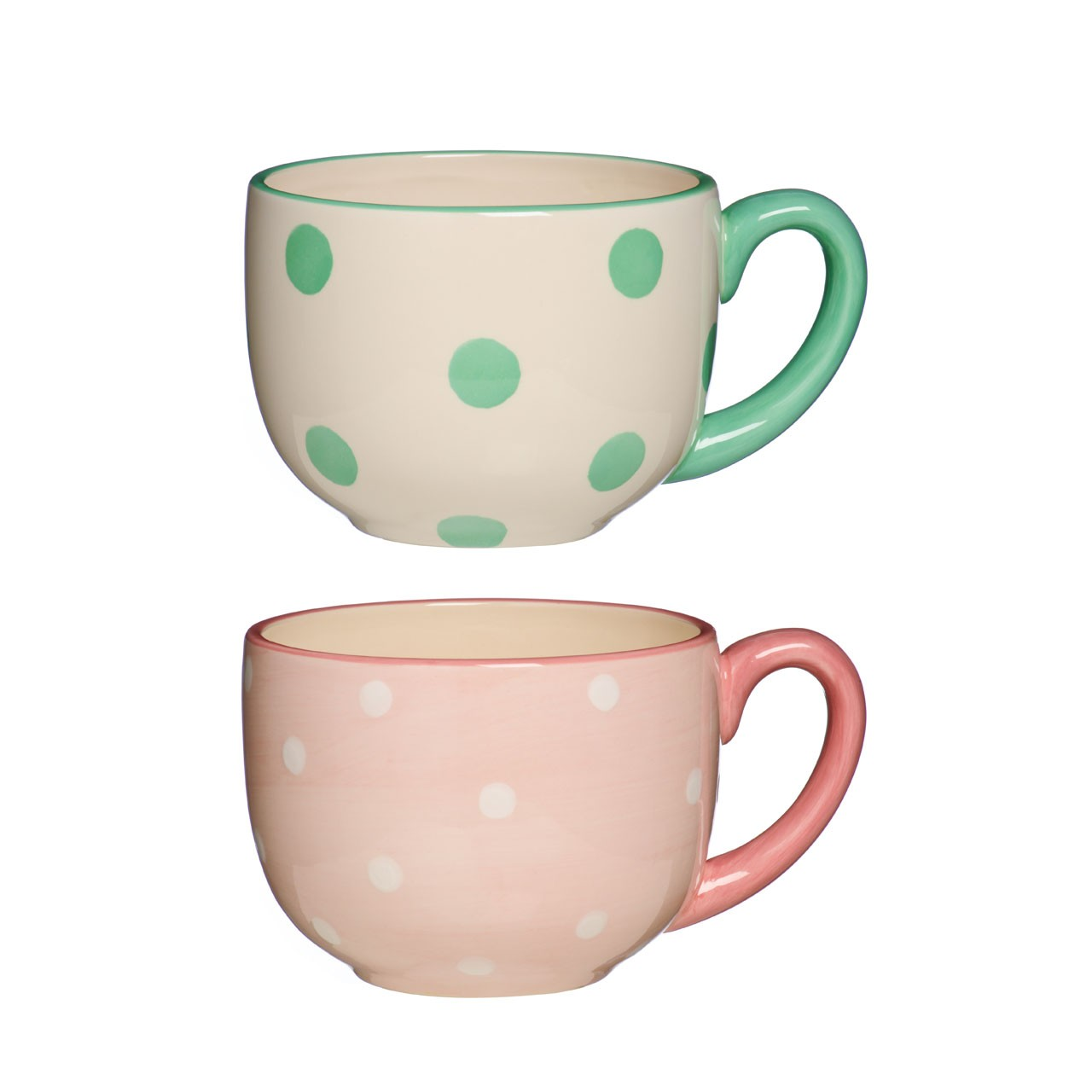Clasificado Dotty Mug 2 Assorted 14oz.