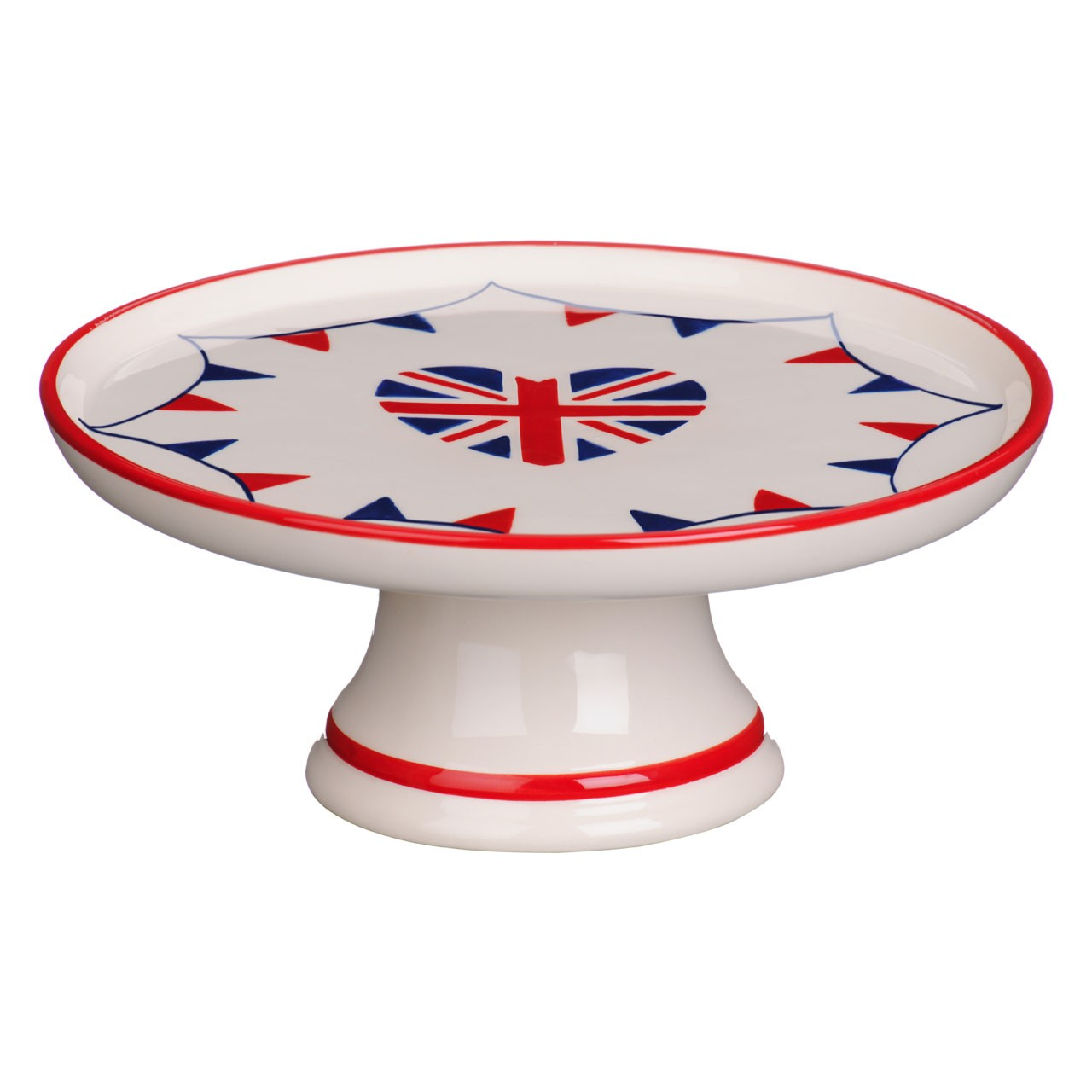 I Love UK Cake Stand, Dolomite