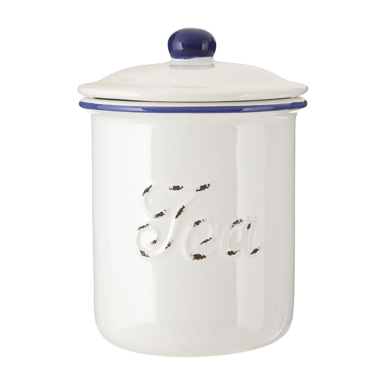 Chiltern Tea Canister, White
