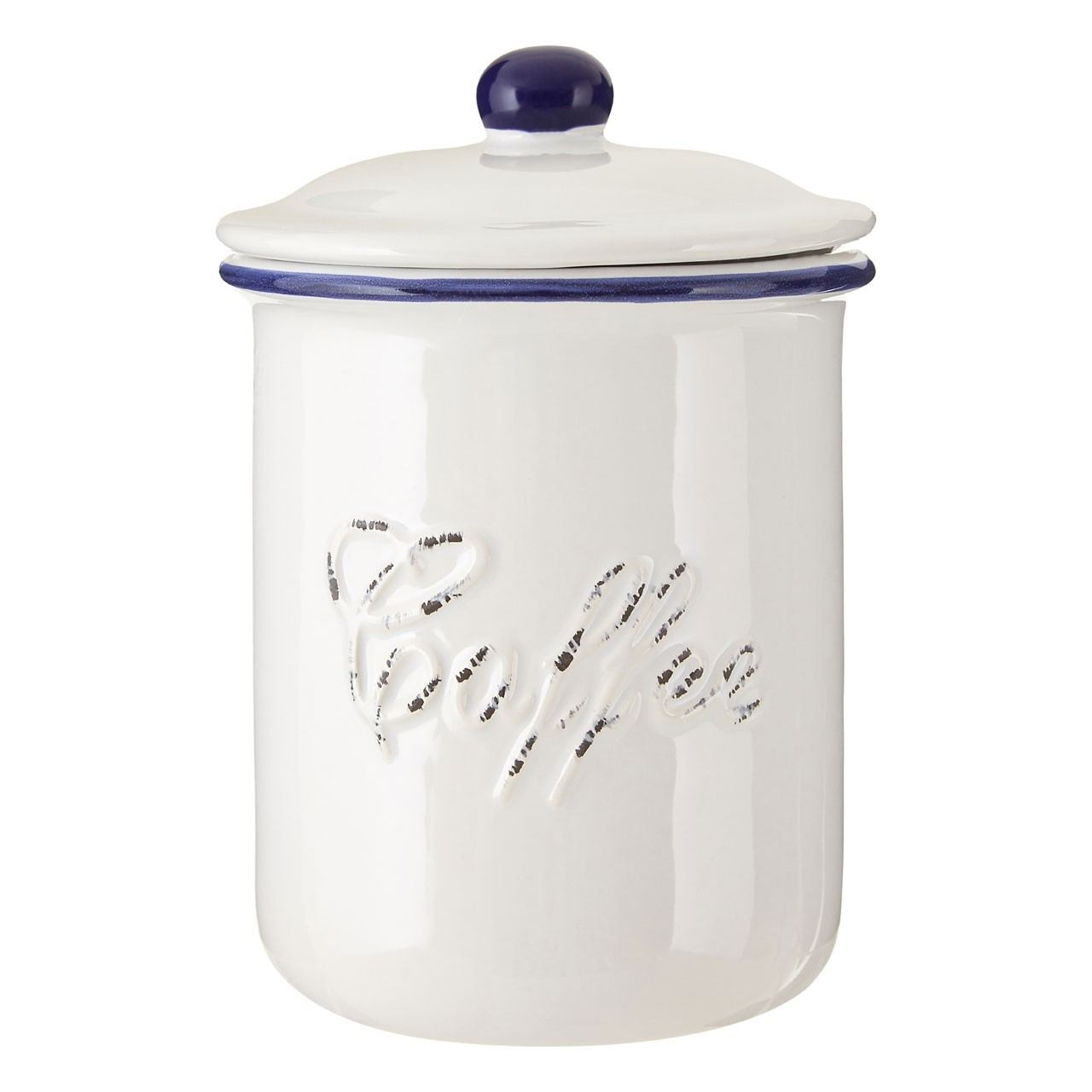 Chiltern Coffee Canister, White