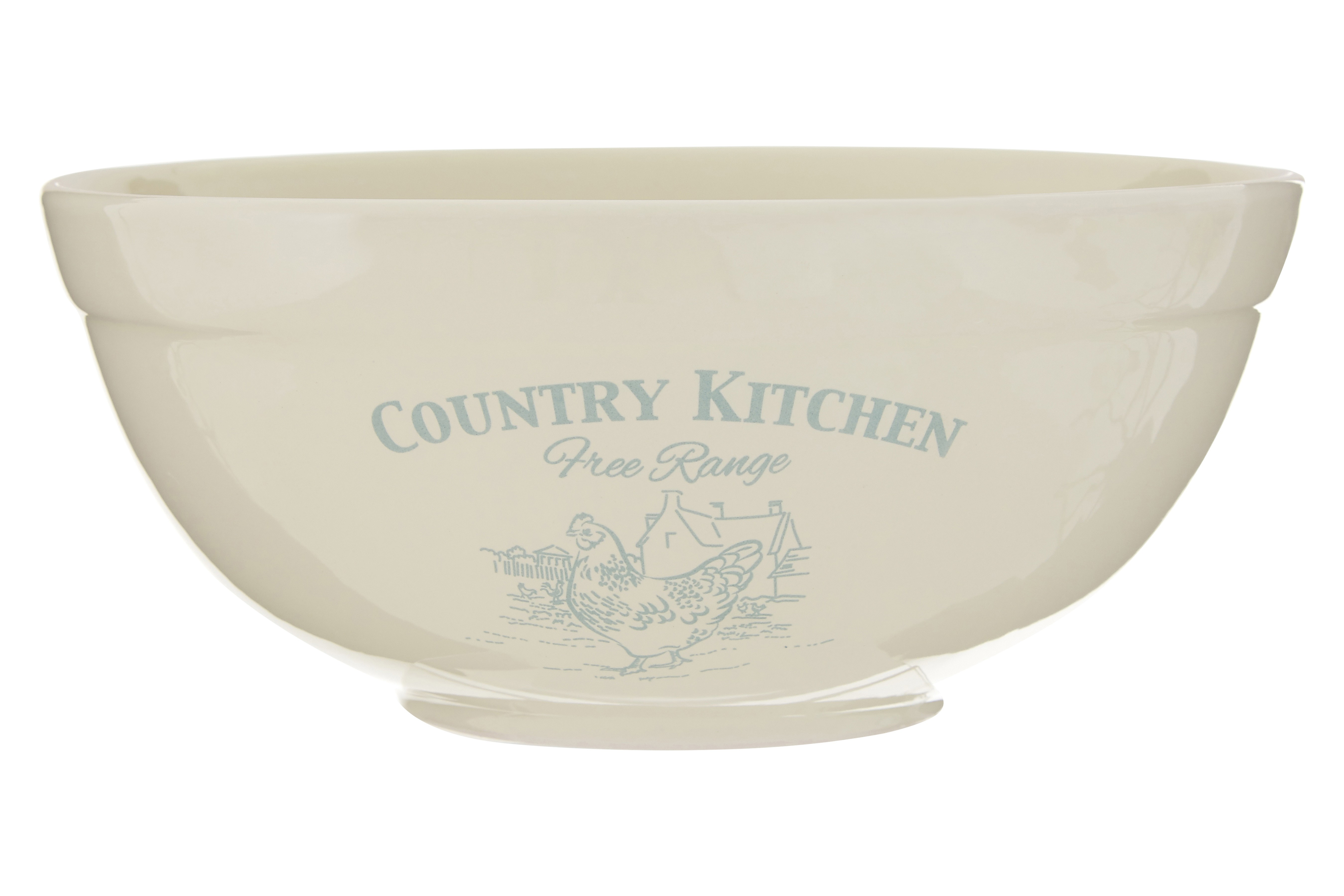 Country Kitchen Mixing Bowl Cream Dolomite