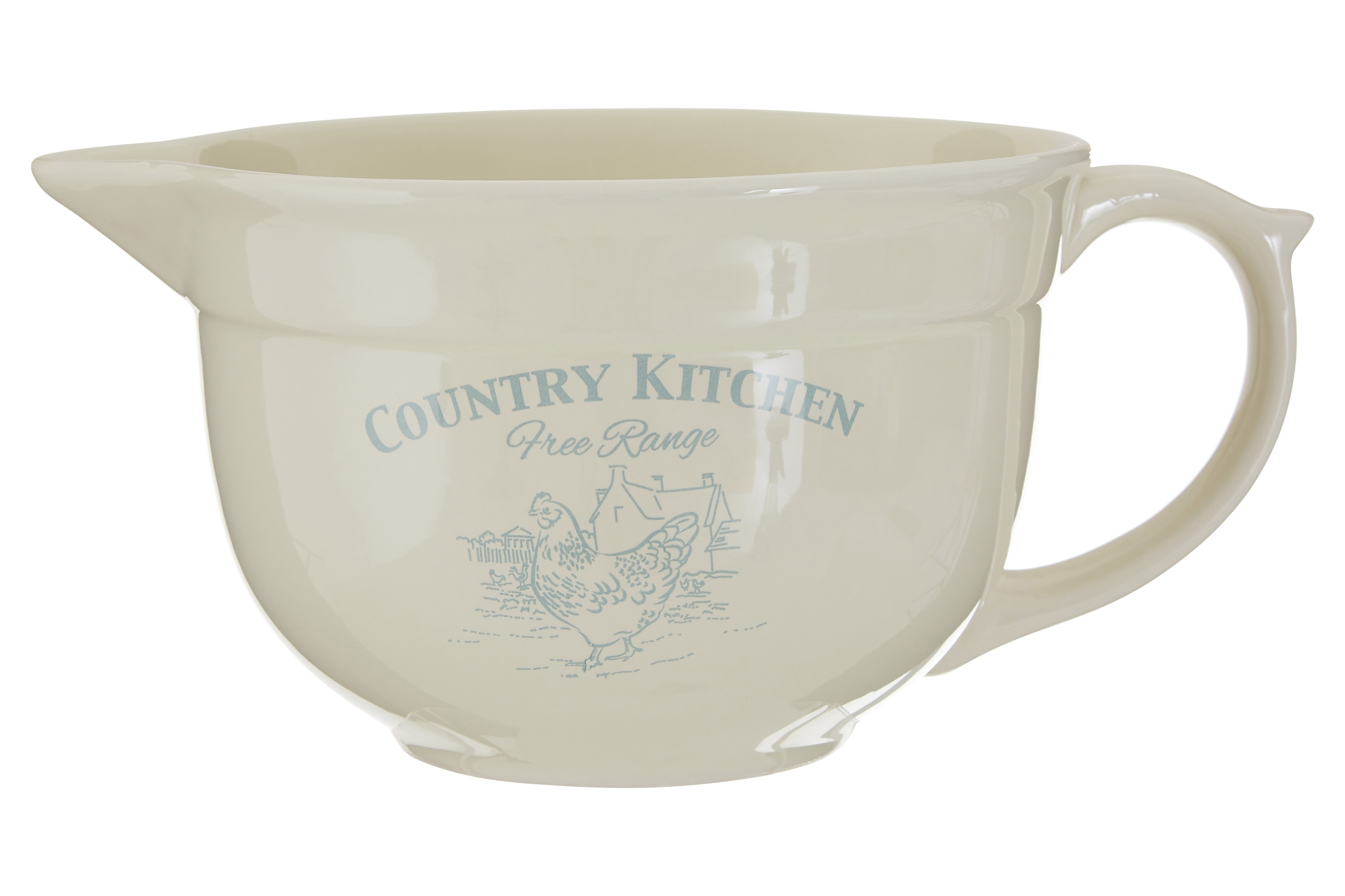 Country Kitchen Basting Jug Cream Dolomite