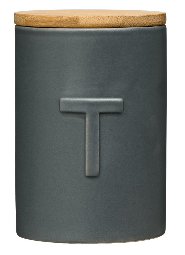 Fenwick Tea Canister - Dark Grey