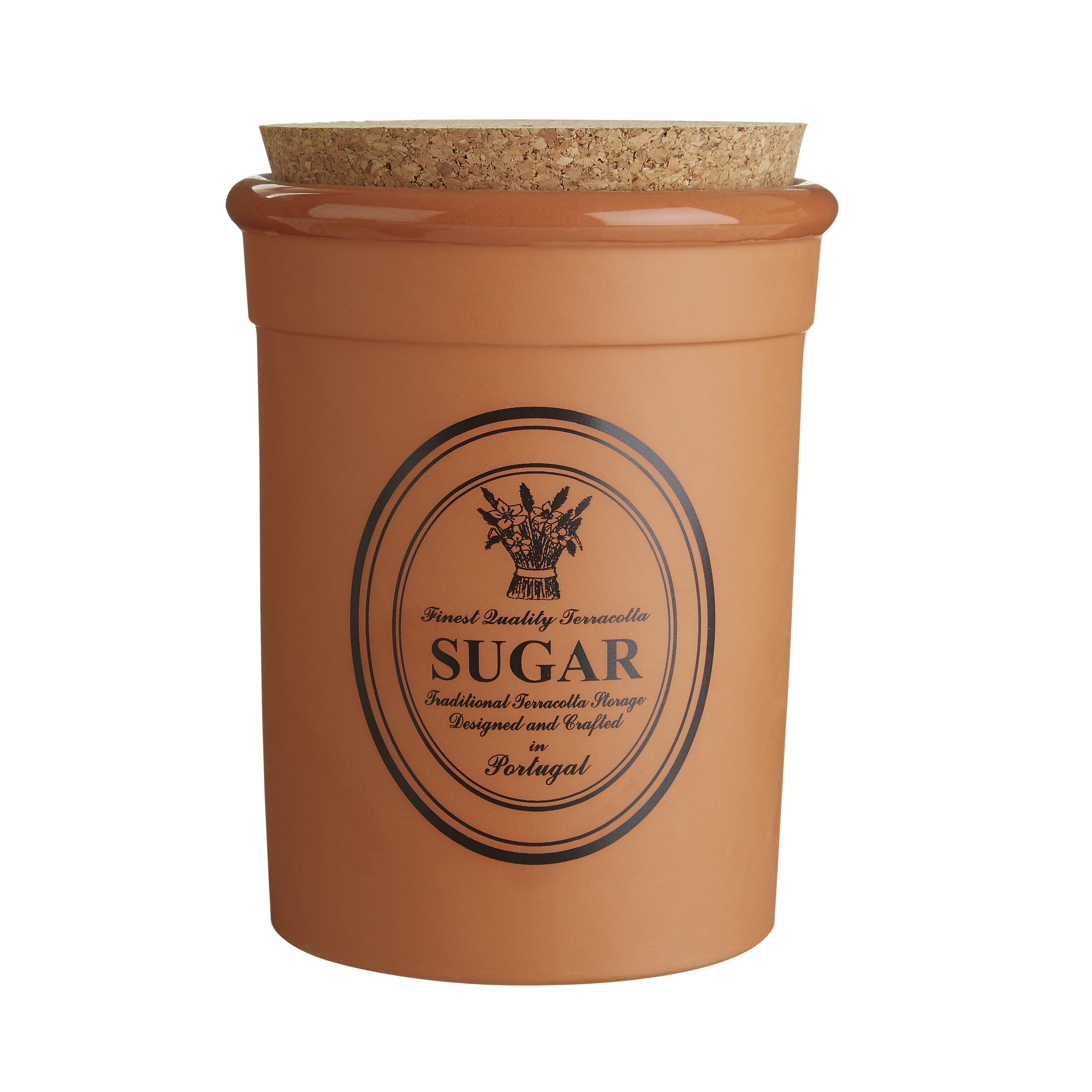 Porto Sugar Canister - Orange