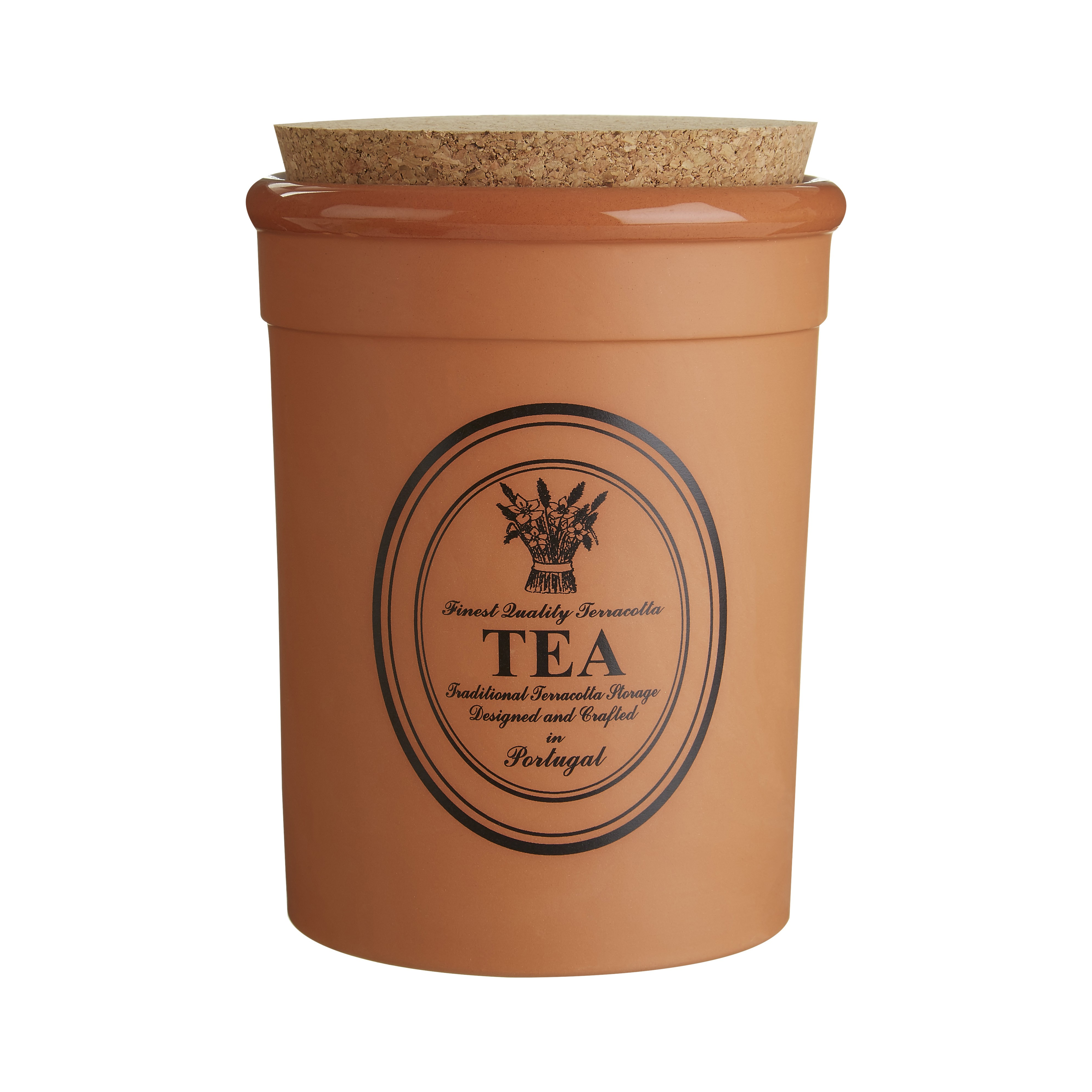 Porto Tea Canister - Orange