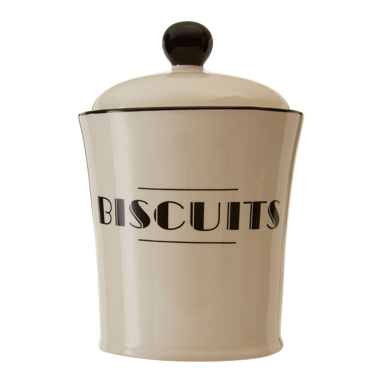 Broadway Biscuits Jar For Kitchen Home