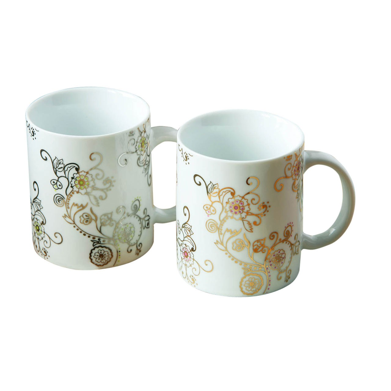 2 Assorted Porcelain Mug
