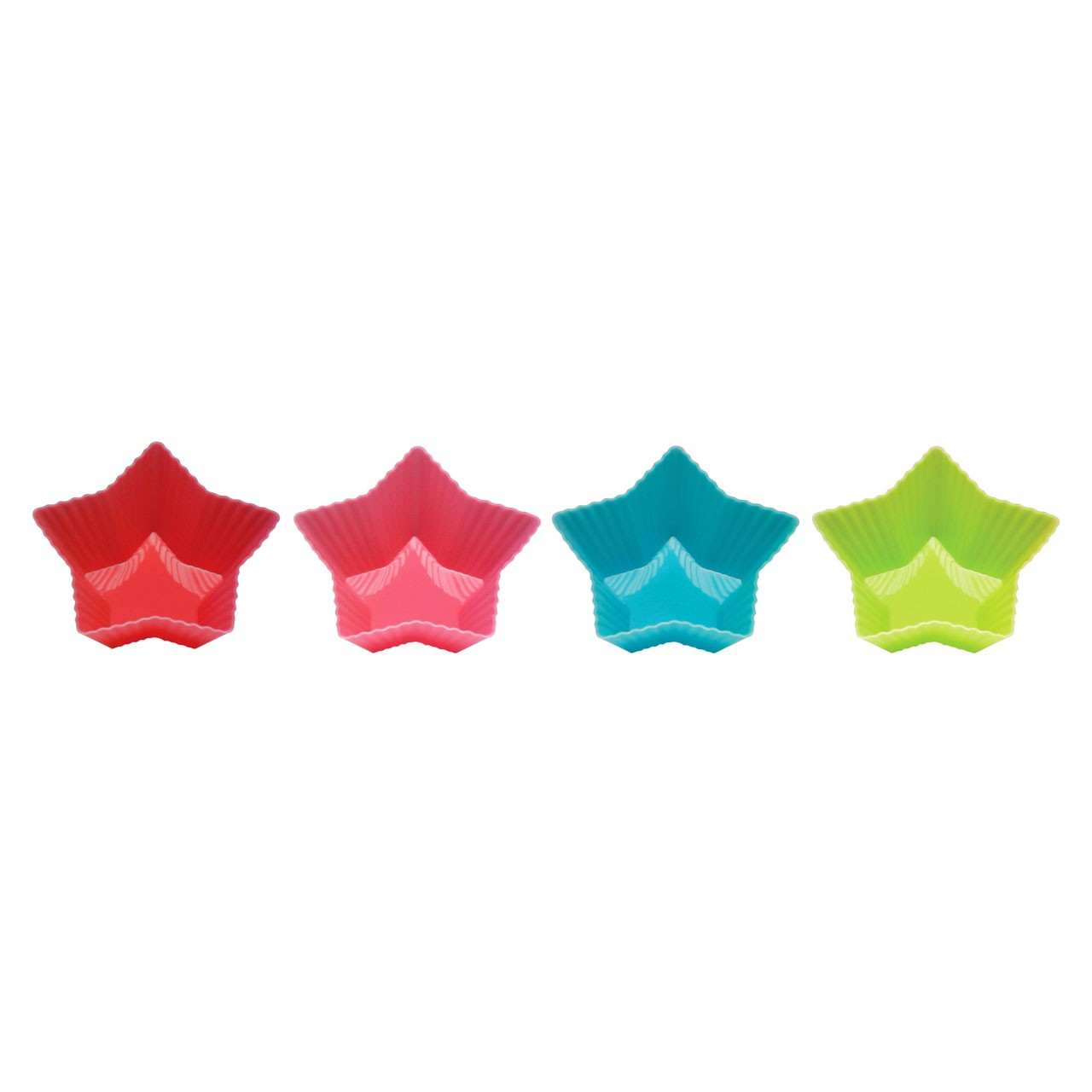Star Moulds Set of 4 Silicone