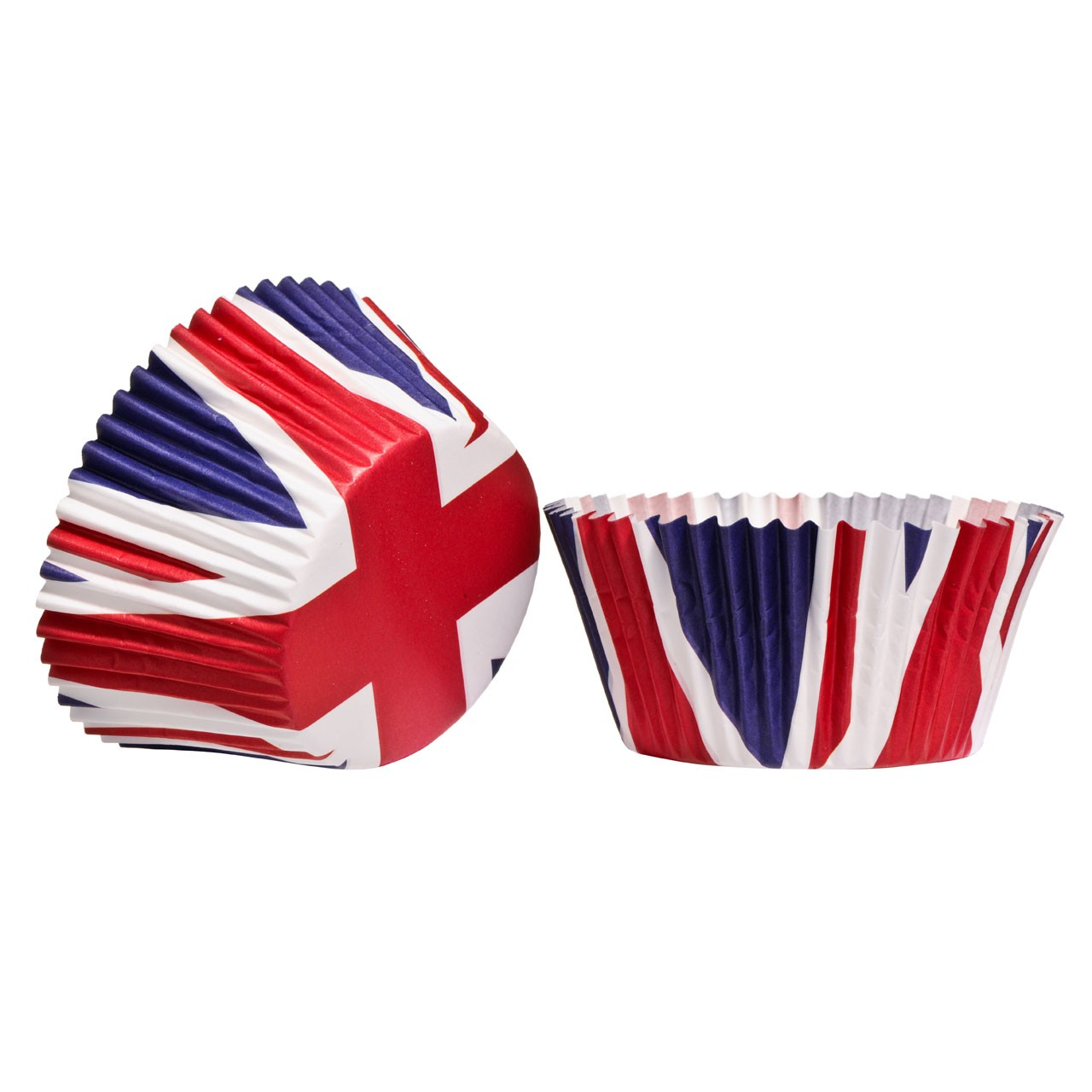 Union Jack - Large Cupcake Cases - pack of 40