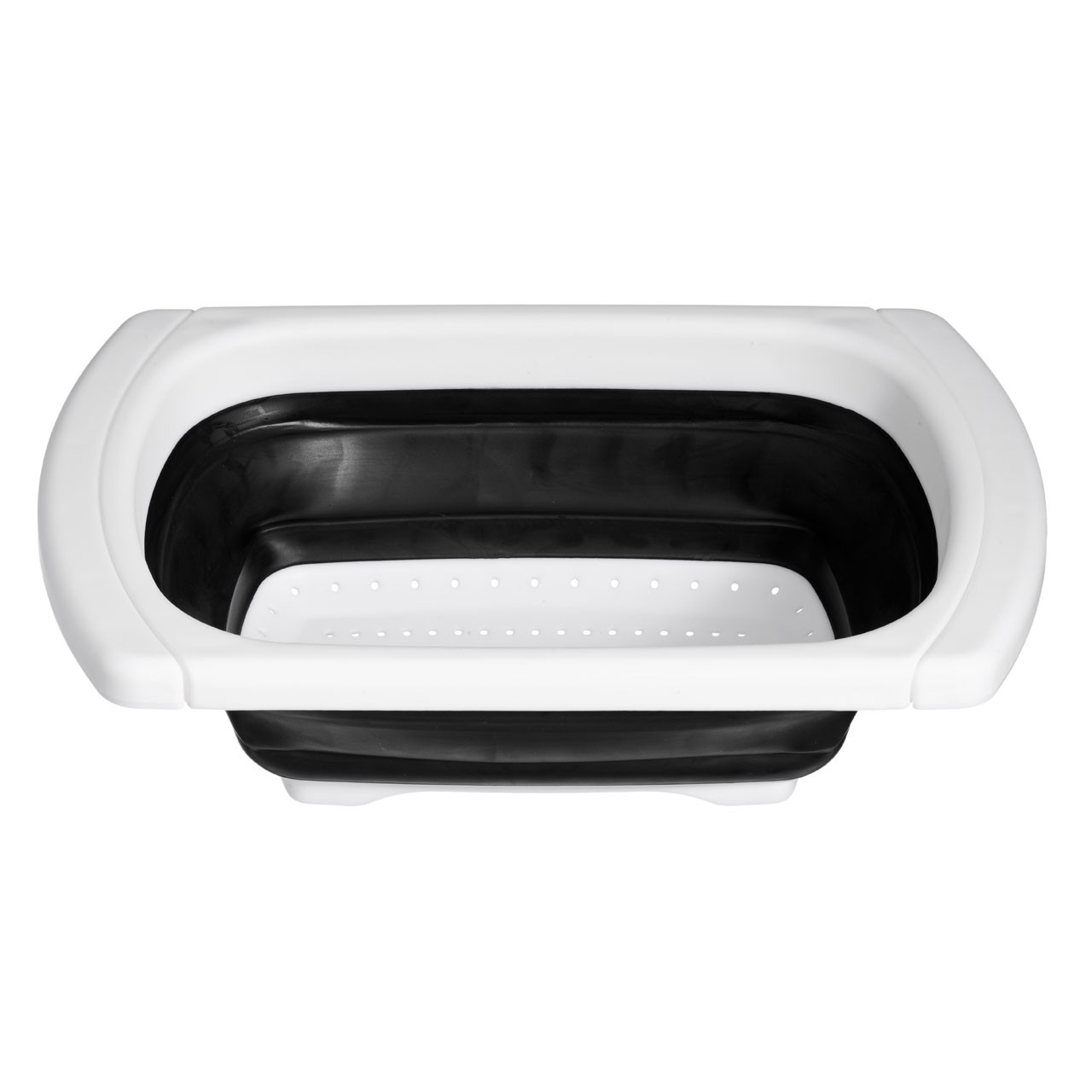 Zing Over Sink Drainer - Black/White