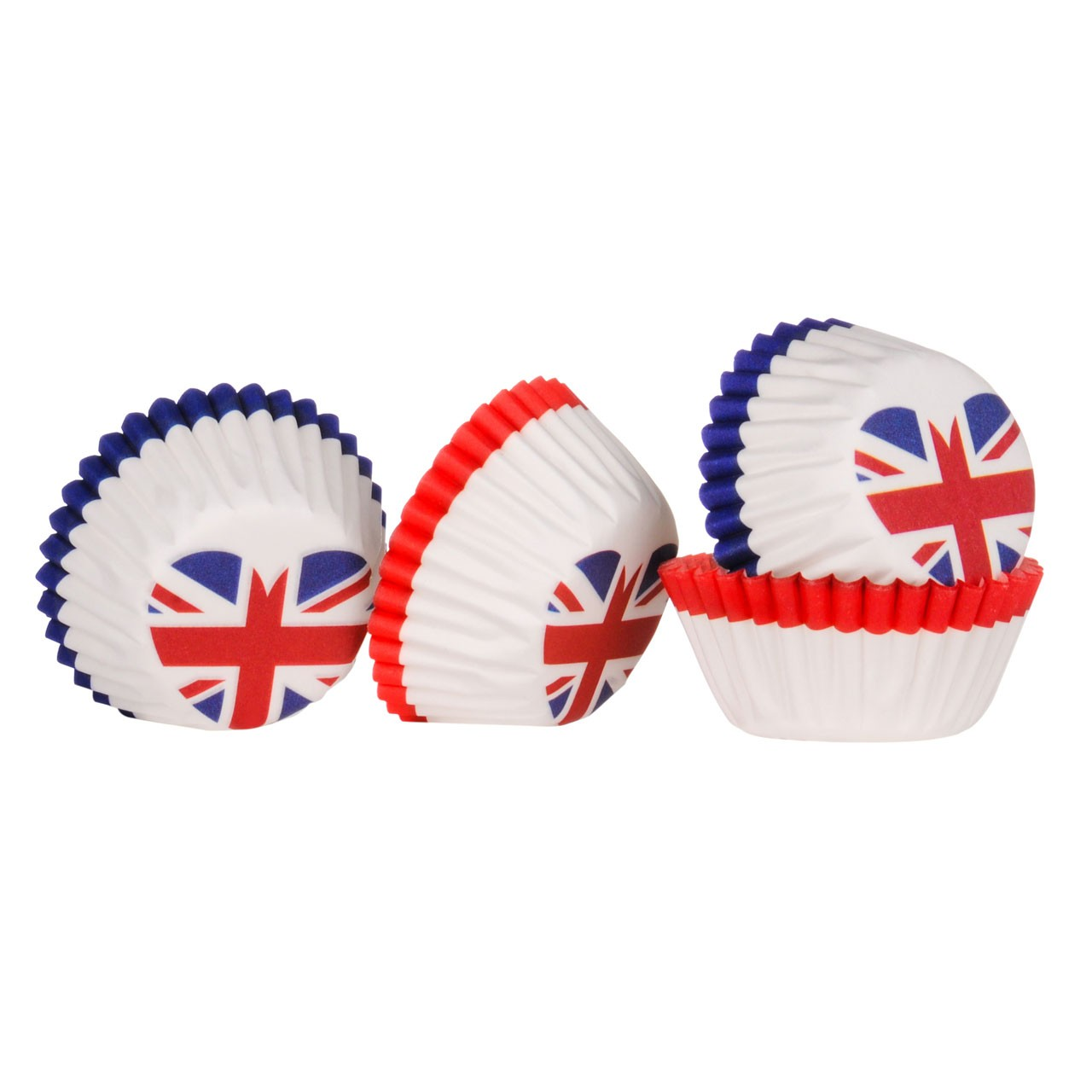 Mini Cupcake Cases I Love UK 100pcs